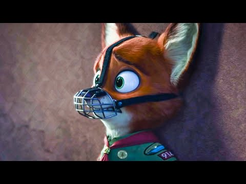 ZOOTOPIA - Little Nick Gets Scared Scene (2016) Movie Clip