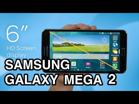 Samsung Galaxy Mega 2 unboxing & review!