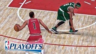 D-Rose Breaks Rondo's Ankles! NBA 2K19 Derrick Rose My Career Ep. 40