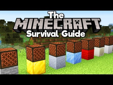 Making Music With Note Blocks! ▫ The Minecraft Survival Guide (Tutorial Let's Play) [Part 258] thumbnail