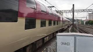 JR東日本戸塚駅を通過する285系サンライズ号。