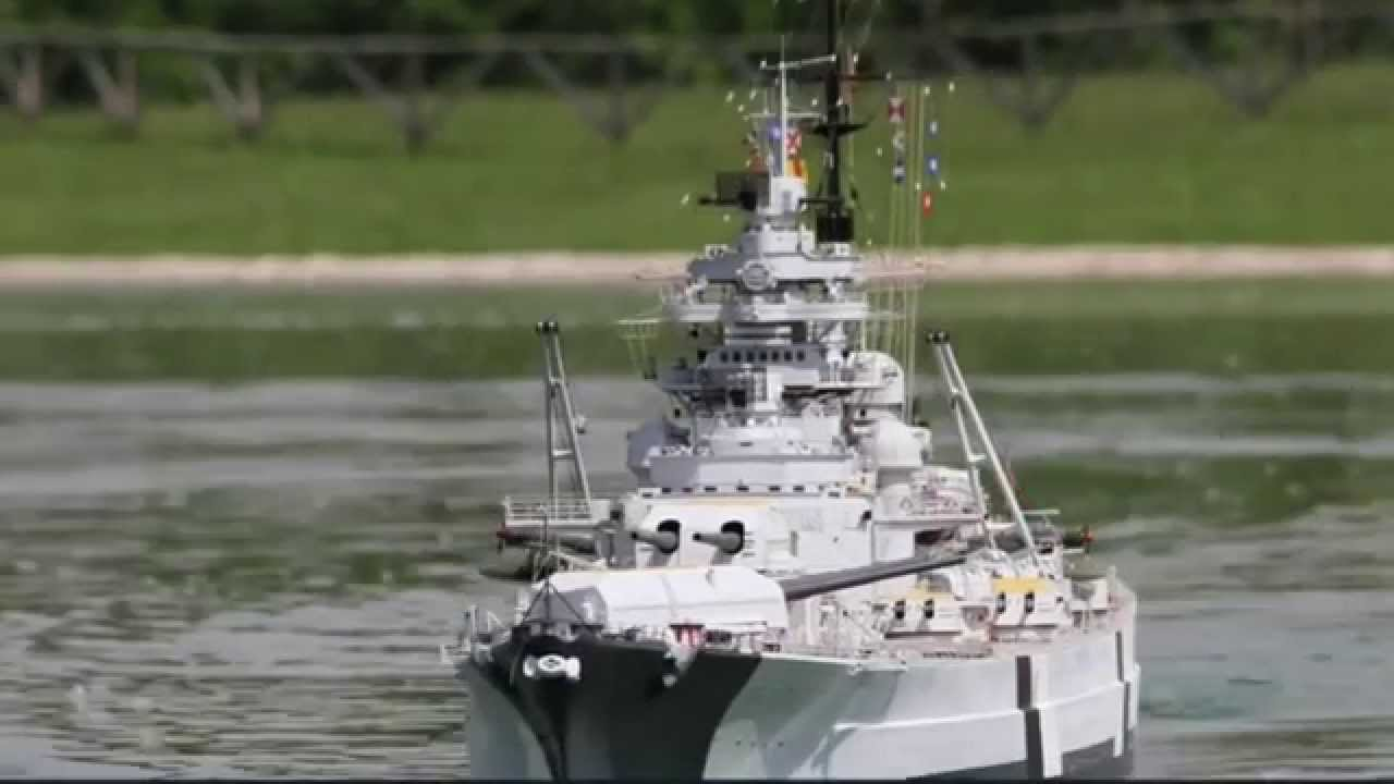 The Largest Bismarck Rc 1 72 Scale 3 48 Mts 11 4 Ft