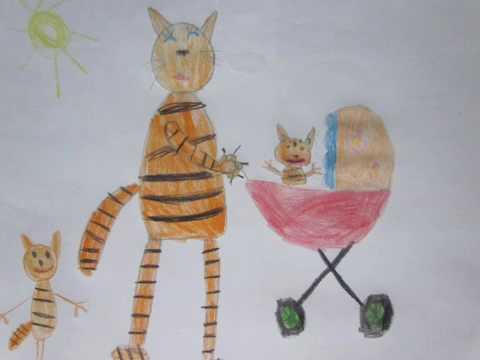 Сказка про тигрёнка полосатика
