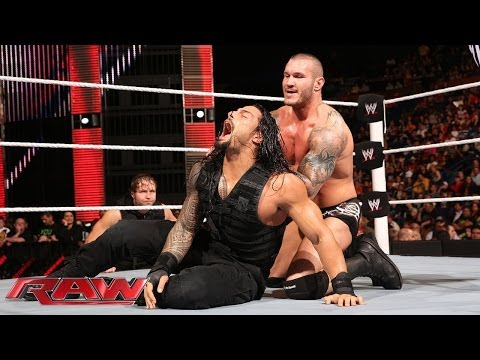Thumbnail: Roman Reigns vs. Randy Orton: Raw, April 28, 2014