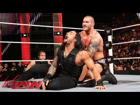 Roman Reigns vs. Randy Orton: Raw, April 28, 2014 thumbnail