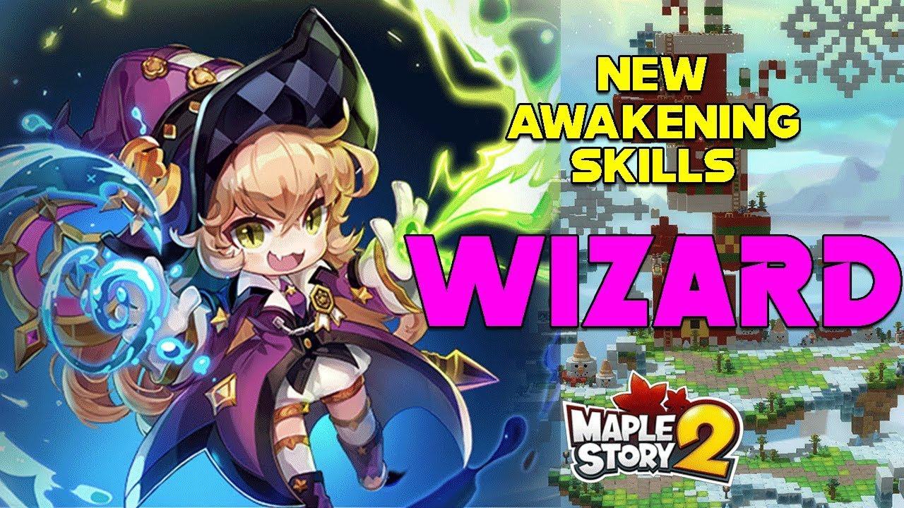 New Wizard Awakening Skills w/Translations! [KMS2 Test Server] by SabidyTV