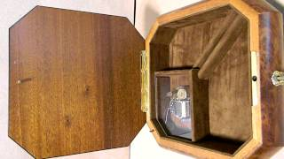 Wooden Music/jewelry Box - Lot #147. Bid Online Until August 13, 2012 At Http://www.auctionmn.com