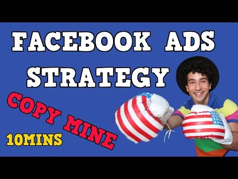FACEBOOK ADS STRATEGY IN 10 MINUTES | NEW 2018 METHOD