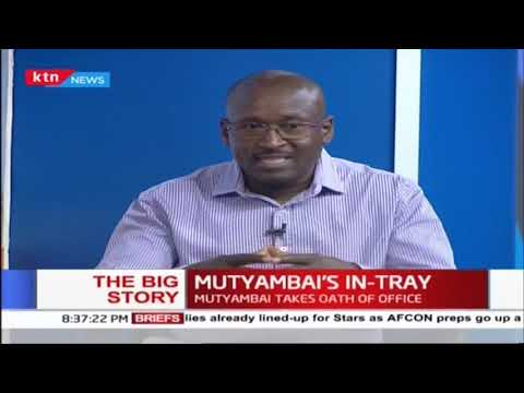 New IG Mutyambai\'s in-tray: Where should he start from to gain public trust? | #TheBigStory