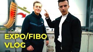 EXPO/FIBO 2018: Ich repariere Wirbelsäulen  | VLOG  | Tim Gabel
