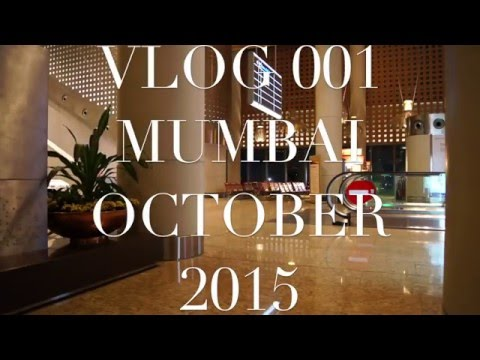 vlog 001 India - Lost in Mumbai Airport