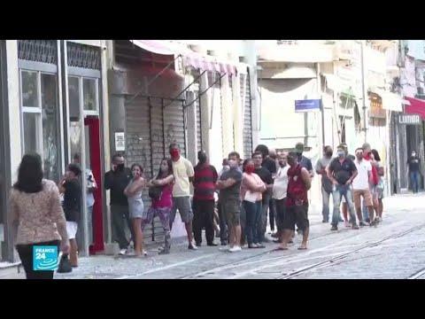 فيروس كورونا يجتاح المناطق الفقيرة في البرازيل  - نشر قبل 51 دقيقة
