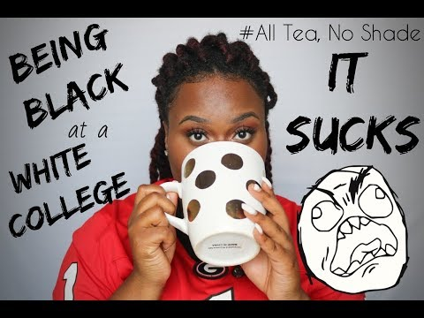 being black at a predominantly white college SUCKS | Azzalea Marie 2018