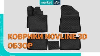 Novline 3D. Резиновые коврики Новлайн на примере Renault Fluence