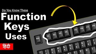 What are the use of Function Keys F1 to F12 on the Keyboard ?