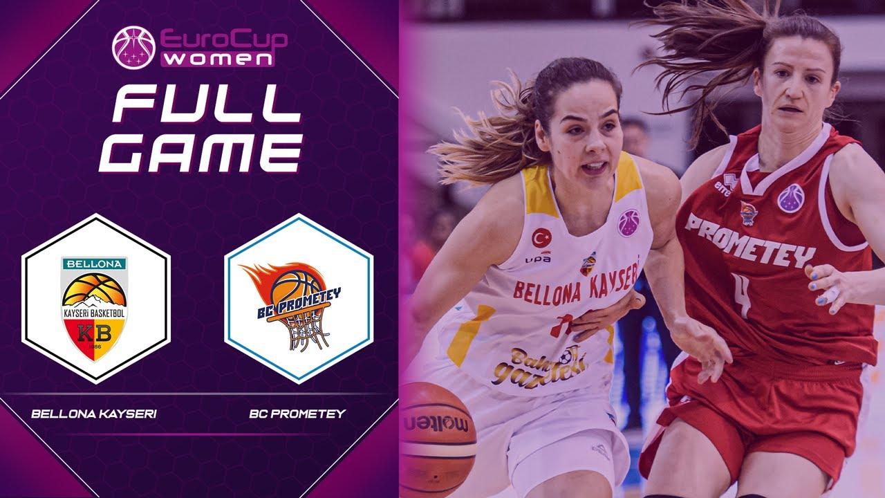 Bellona Kayseri Basketbol v BC Prometey | Full Game - EuroCup Women 2020-21