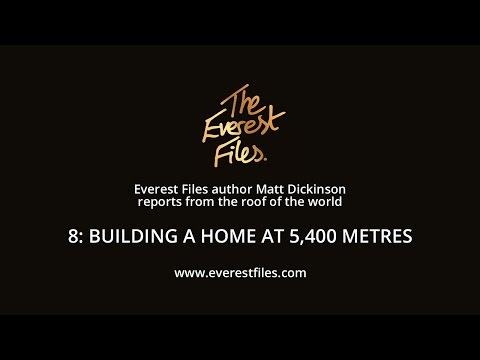 Everest Files author Matt Dickinson reports from the roof of the world - Clip 8