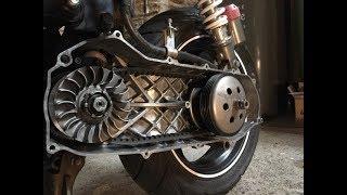 Comment régler le variateur et l'embrayage d'un scooter?