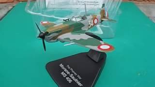 the phoney war ww2 morane saulnier ms 406 atlas editions model plane review