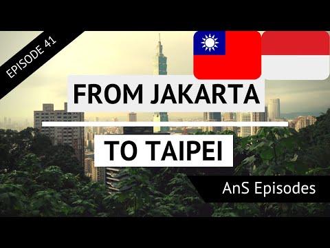 Jakarta & Taipei Vlog - INDONESIAN FOOD (EP 41)