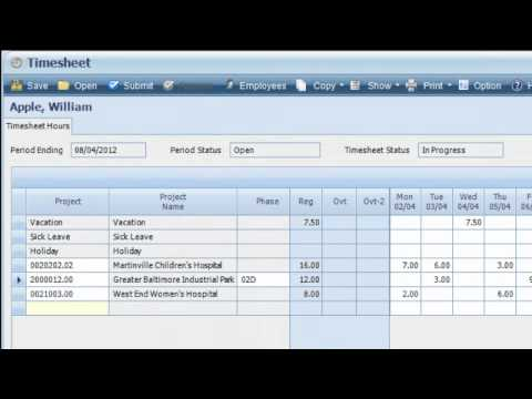 Deltek Vision Financial And Project Accounting Youtube