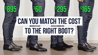 Chelsea Boots at 4 Different Prices   What Makes Each Unique?   One Dapper Street
