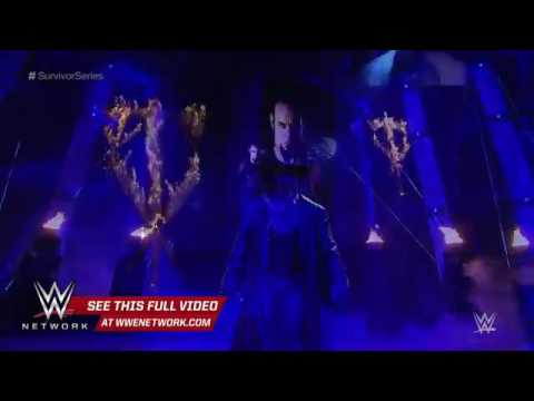 MUVIZA COM   WWE Network The Undertaker enters Philips Arena on a historic