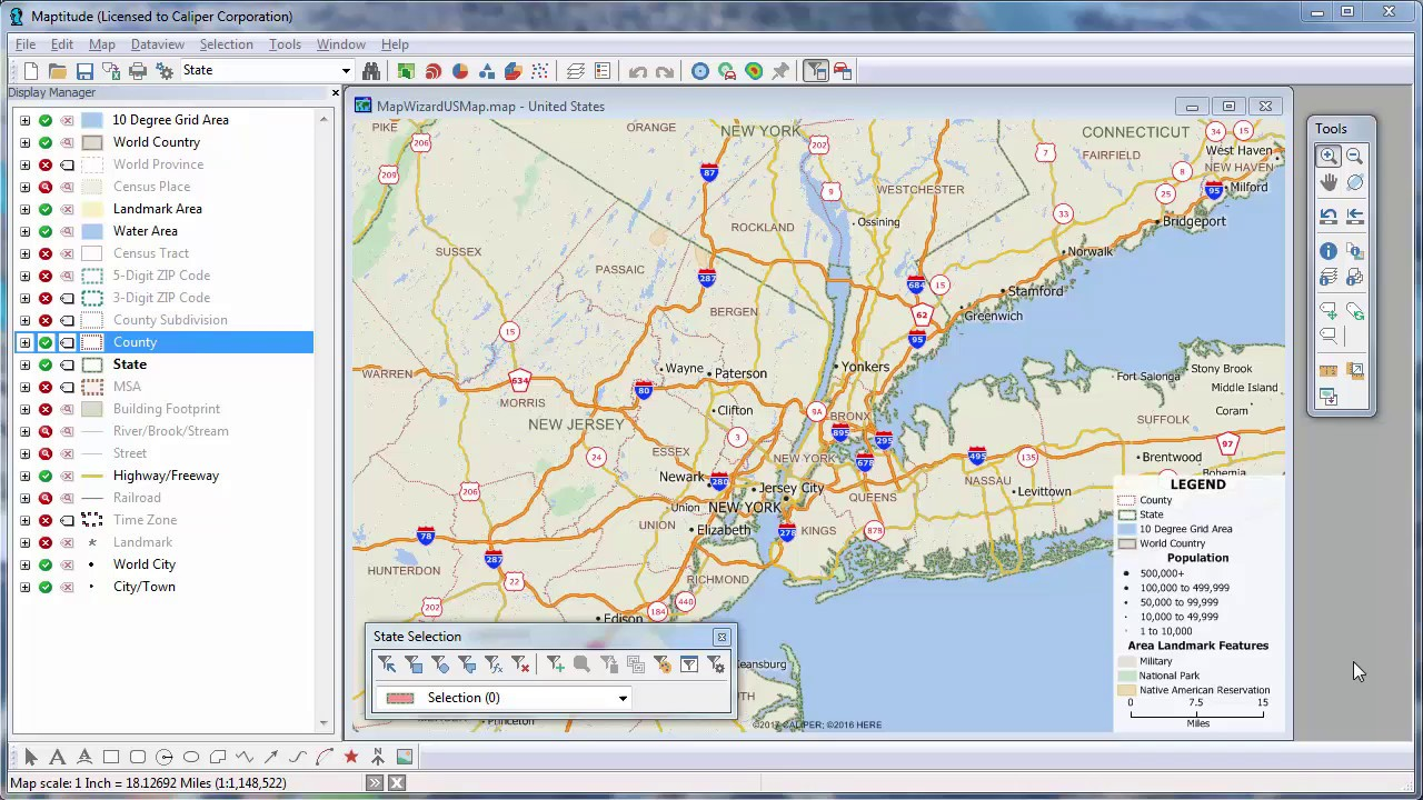 Maptitude  Introduction To Easytouse Mapping Software YouTube - Us 3 digit zip code map