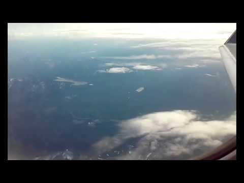 The (Almost) Entire Flight from Seattle to Spokane