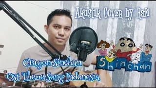 Crayon Sinchan OST OPENING THEME SONG Indonesia di cover akustik oleh RAFI