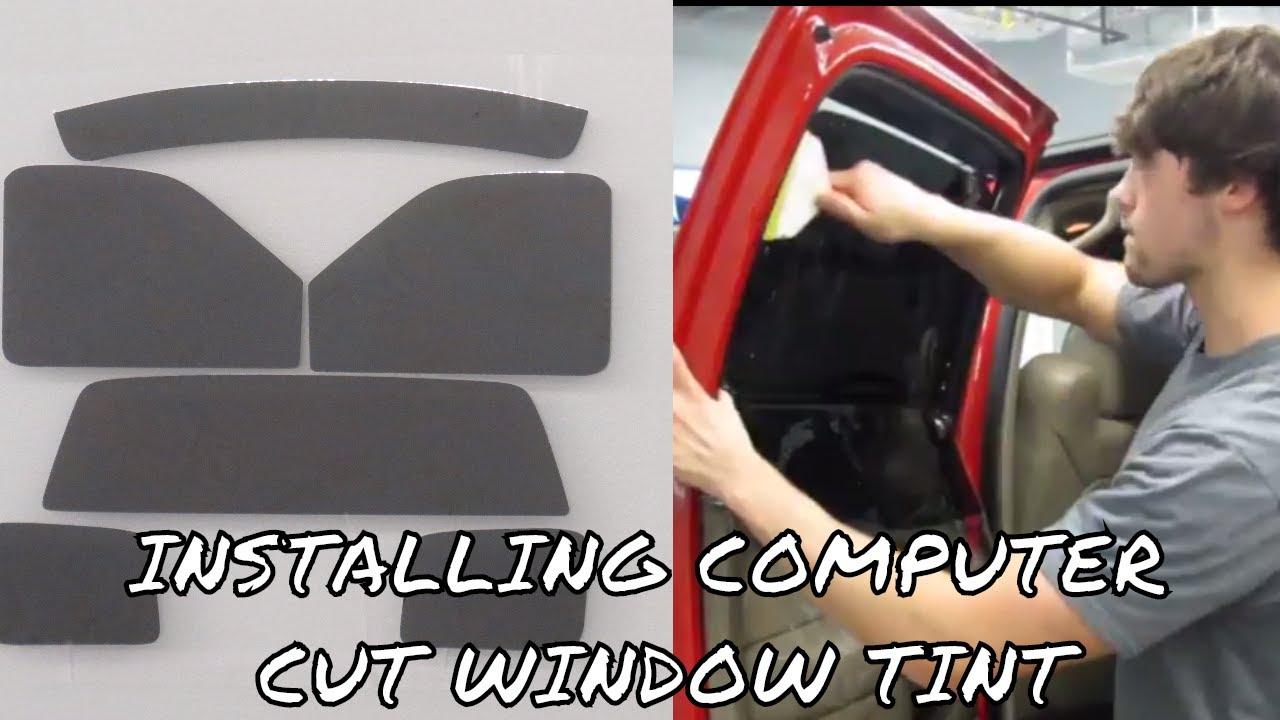 Installing Pre Cut Tint Kit Diy Youtube