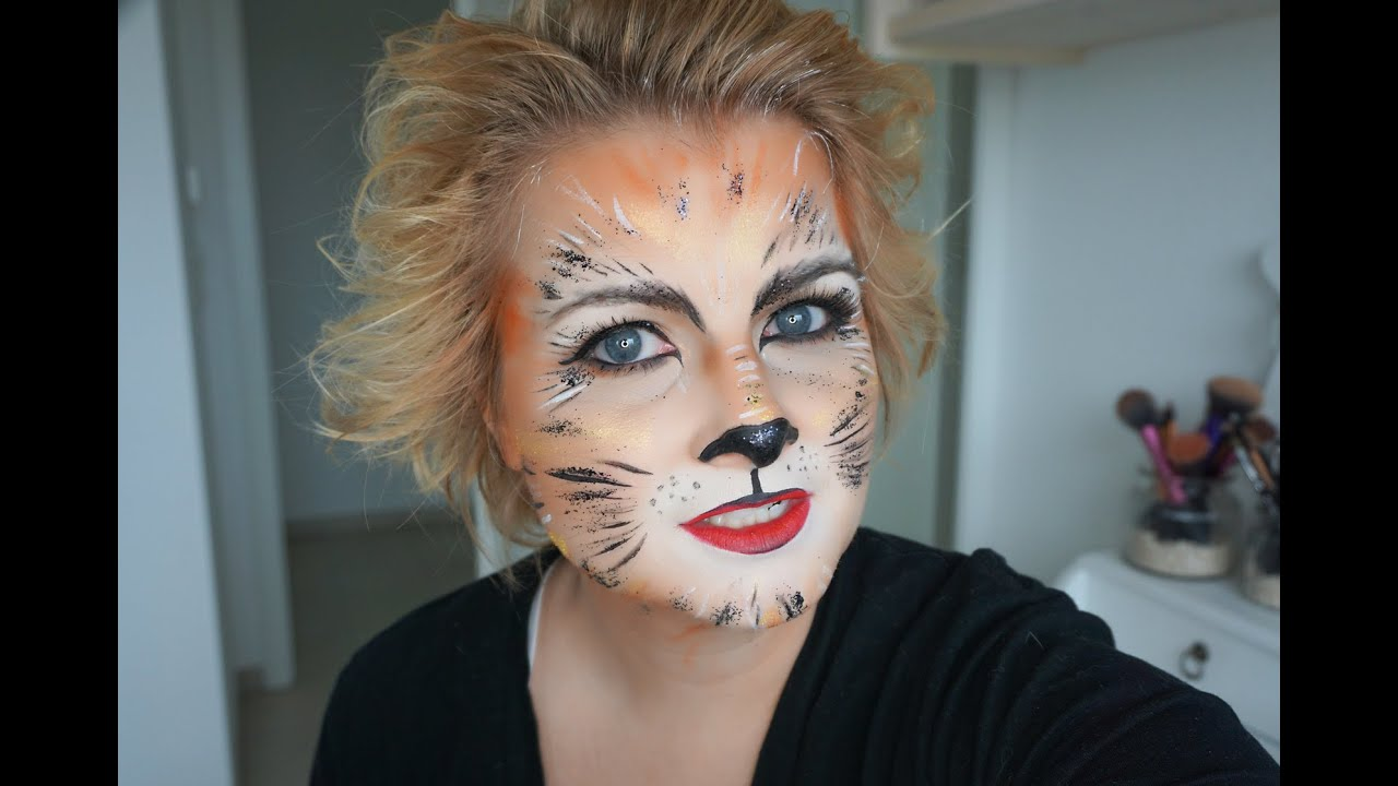 katzen make up tutorial f r ein katzengesicht youtube