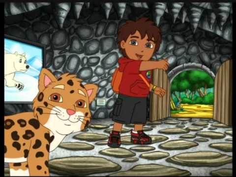Go Diego | La grotte des animaux féroces | NICKELODEON JUNIOR