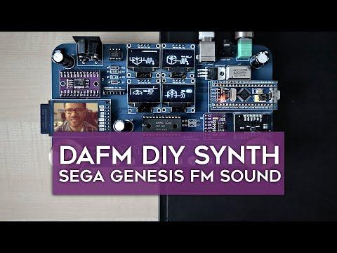 DAFM DIY Synthesizer - SEGA Genesis FM Sound On A Tiny Board