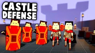 Defend the Castle!  Endless Waves of Invaders! (Paint the Town Red Best User Created Levels)