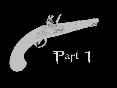 Flintlock Pistol - Part 1