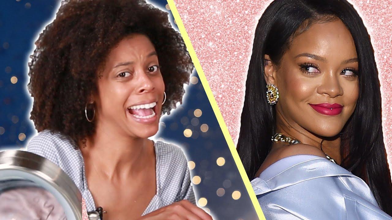 Drunk Women Recreate Rihanna's Makeup Tutorial