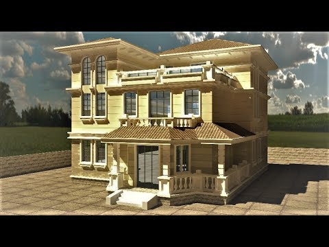 3ds Max Advance Exterior Rendering Tutorial Vray Rendering Tutorial Youtube
