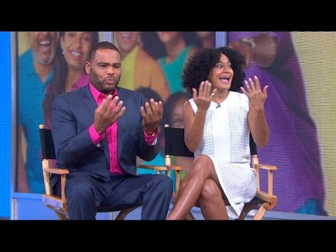 'Black-ish' Stars Anthony Anderson, Tracee Ellis Ross Join 'GMA'