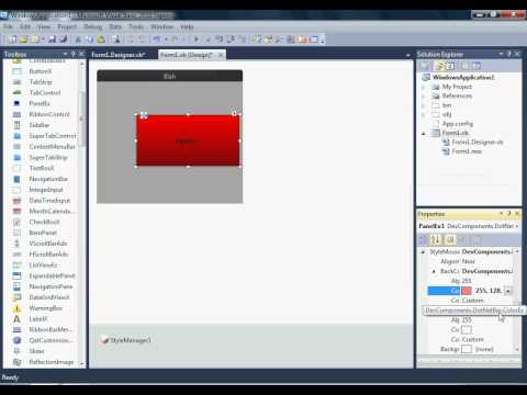 How to add Visual Basic Theme by Steve Guier