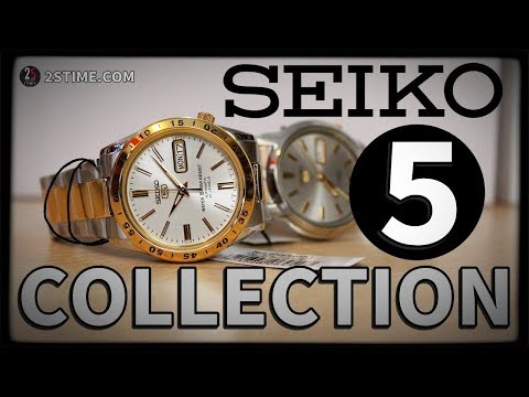SEIKO 5 Collection - The Greatest Dress Watch You MUST BUY