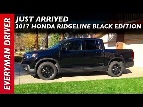 Just Arrived: 2017 Honda Ridgeline AWD Black Edition on Everyman Driver