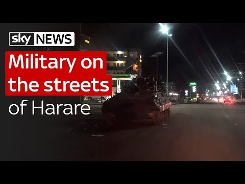 Mugabe: On the streets of Zimbabwe's capital