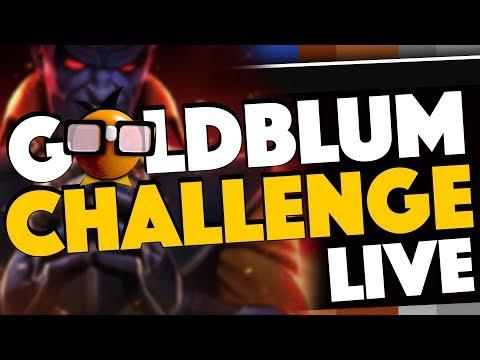 Taking on the GOLDBLUM Grandmaster Challenge LIVE