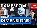 Lego Dimensions Gamescom 2016 Extra Info & News! The Shard! Knight Rider & Beetlejuice Update! video