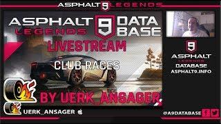 🔴 Live Asphalt 9 #1 - Funny Clubraces 😂😂😂