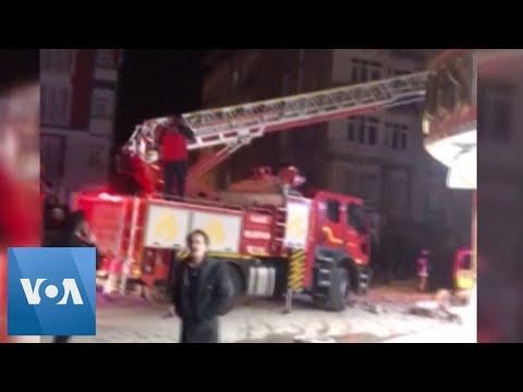 Magnitude-6.8 Earthquake Hits Turkey