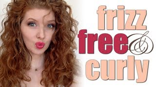 How I Do It! Frizz Free Curly Hair(How to get frizz-free, curly hair! My tips and techniques! The Pantene Gel used in the video (the BEST!) Gel for Curly Hair, Curl Shaping #3, Extra Strong Hold On ..., 2013-05-14T23:01:14.000Z)