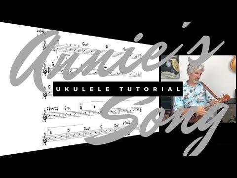 Annie's Song Ukulele Tutorial - John Denver