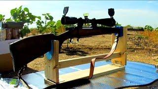 Станок для пристрелки и чистки оружия своими руками. Do-it-yourself machine gun.